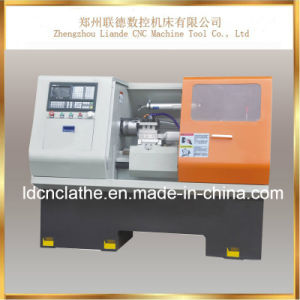 Low Price Promotional Hobby Education CNC Lathe Machine pictures & photos