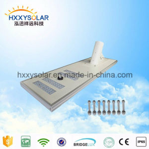 Integrated Solar Street Light for 100W LED Lamp with LiFePO4 Battery pictures & photos