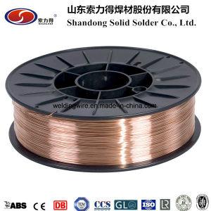 Er70s-6 Welding Wire GB/T Er50-6/ DIN Sg2/ JIS Ygw12 / Bs A18/ En G3si1 (AWS A5.18 ER70S-6) pictures & photos
