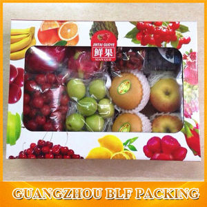 Fruit Packaging Box with Clear PVC Window pictures & photos