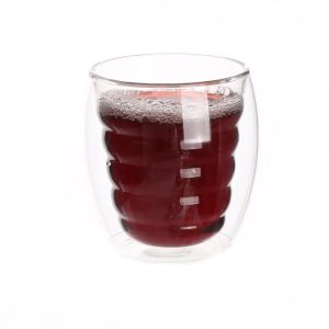 High Borosilicate Double Wall Glass Cup Coffee Cup pictures & photos