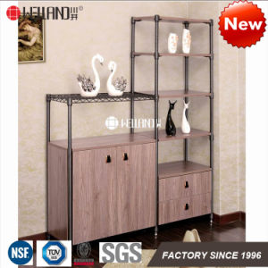 2017 New Patent DIY Design Steel-Wooden Kitchen Metal Furniture for Dining Room Storage Furniture pictures & photos