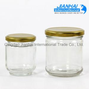 Empty Glass Food Storage Jar Honey Jar Glass Jam Jar pictures & photos