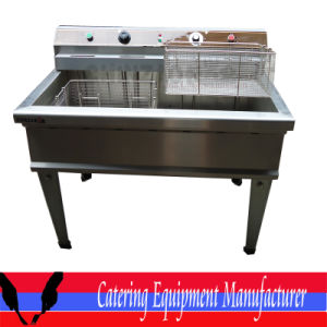 Free Standing Commercial Electric Fryer (DZL-76B) pictures & photos