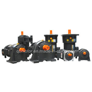 50/60Hz Three Phase Single Motor 0.75kw Small Gear Reducer pictures & photos