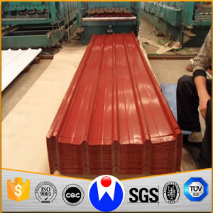 Color Coated Galvanized Corrugated Steel Roofing Sheet/ PPGI pictures & photos