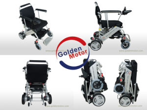 Light Weight Folding Quiet Electric Wheelchair pictures & photos