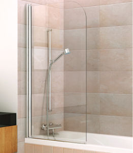 Curved Bath Screen Bathtub Shower Enclosure for Bathroom pictures & photos