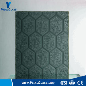3-6mm Grey Beehive Pattern Glass with CE&ISO9001 pictures & photos