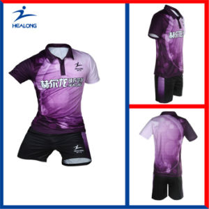 Healong Customized Sublimation Printing Table Tennis Jersey pictures & photos