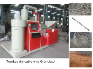 2015 China Manufacturer Waste Copper Wire Granulator