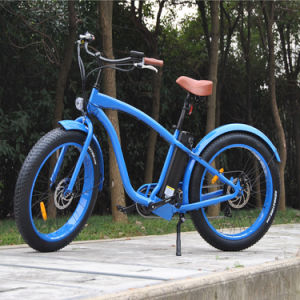 Hot Popular Fat Tyre Beach Cruiser Electric Bike pictures & photos