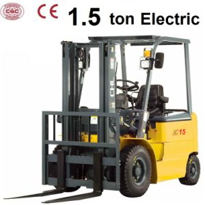 1.5 Ton Small Electric Forklifts with Curtis Controller (CPD15) pictures & photos