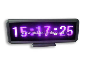 Taxi Top LED Light Scrolling Message Sign 16X128 Pixels pictures & photos