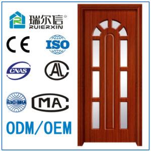 Modern Design Interior PVC MDF Wooden Door