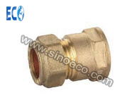 Brass Equal Straight Connector Joint Pipe Fitting pictures & photos
