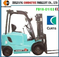 1.5Ton Electric Forklift with Curtis pictures & photos