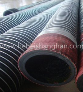Rubber Wire Armoured Suction Hose