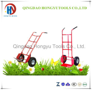 Pneumatic Tyre Heavy Duty Hand Trolley for Sale (HT1830) pictures & photos