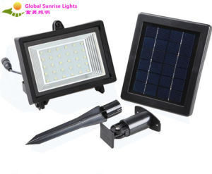 Hot Sales! Energy Saving Solar Flood Light, Solar Lawn Lamp pictures & photos