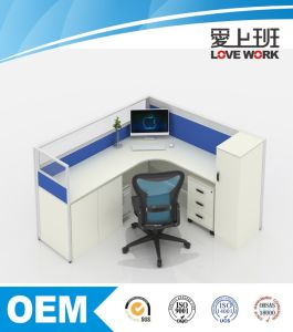 One Person Screen Modular Office Workstation