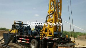 300m Multi-Functional Trailer Mounted Water Well Borehole Drilling Machine pictures & photos