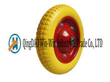PU Foam Wheels Used on Wheelbarrow (3.00-8) pictures & photos
