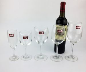 Handmade High Quality Clear Glass Goblet/ Wine Glass pictures & photos
