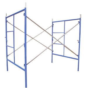 Construction Frame Scaffolding Cross Brace Galvanized Diagonal pictures & photos