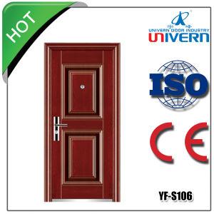 New Design and Hot Sale Steel Door (YF-S106) pictures & photos