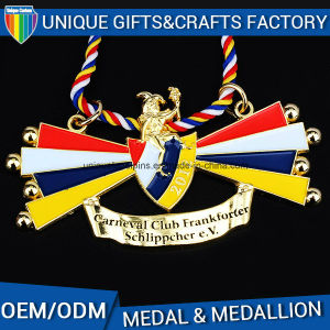 2017 Newest 3D Custom Metal Marathon Medallion Gold Medal pictures & photos