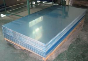 Aluminum Sheet 5052 O with Both Side Lamination pictures & photos