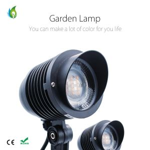 9W RGBW Epistar LED Garden Light with 3 Years Warranty pictures & photos
