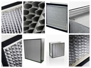 H13 Aluminum Foil Separator HEPA Filter pictures & photos