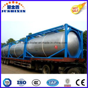 Csc ASME T75/T50 24000liters 20FT LPG/LNG Tanker Container for The Indonesia Market pictures & photos