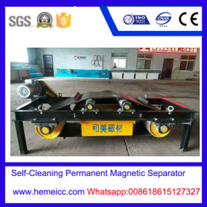 Self-Cleaning Permanent Magnetic Separator for Cement, Building Material pictures & photos