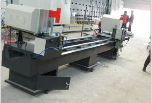 CNC Aluminum Profile Cutting Machine/Aluminum Profile Double Head Cutting Saw pictures & photos
