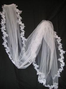Long Lace Veils
