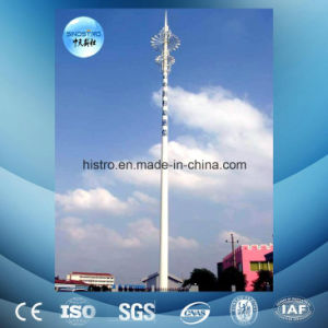 Hot-DIP Galvanized Tubular Steel Lattice Communication Tower pictures & photos