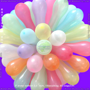 Latex Water Bomb Balloon for Kids′ Water Balloon Fight pictures & photos