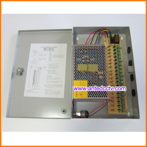 18 Channel CCTV Switching Power Supply 12V-20A-18CH 250W pictures & photos