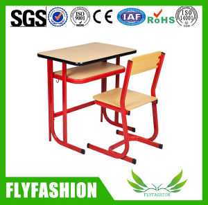 Durable Wooden Classroom Desk and Chair (SF-65S) pictures & photos