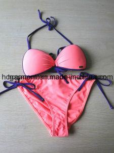 OEM Woman Printed Beachwear Bikini Triangle Swimwear for Women/Lady pictures & photos