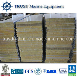 China Marine B15 Fireproof Rock Wool Acoustic Wall Panel