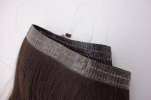 Premium Flip in Weft Remy Human Hair Extension pictures & photos