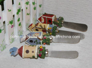Polystone/Resin/Polyresin Knife with Christmas Gifts for Kitchen Decor pictures & photos