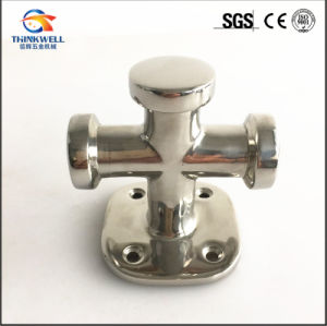 Stainless Steel Ship Fittings Double Cross Bollard pictures & photos
