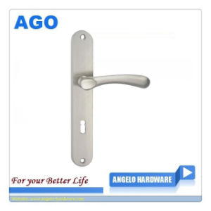 Polish Design Aluminum Handle on Plate (AG1-192P10)