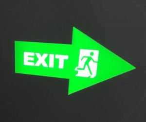 LED Exit Sign Projector Light Well-Known Widely Used Light pictures & photos