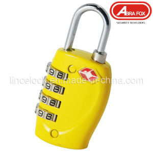Tsa Approved 4 Digit Set-Your-Own Combination Security Lock pictures & photos